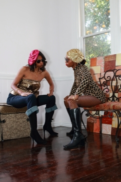 Photo by Richard Carley III Models(Left to Right): Asia Burney and Alma Condell